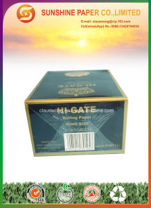 King Size Hi-Gate Rolling Paper pictures & photos