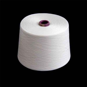 45/1 Raw White 100% Spun Polyester Yarn