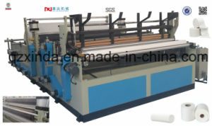 Automatic Toilet Paper Tissue Rewinding Perforated Machine pictures & photos