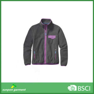 China Garments Factory Wholesale Custom Winter Man Polar Fleece Jacket pictures & photos
