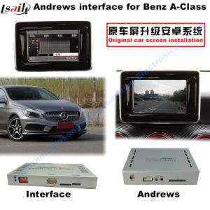 Car Video Interface for Mercedes-Benz Ntg 5.0 a B C E Glc Gle Gla Class, Android Navigation Rear and 360 Panorama Optional pictures & photos