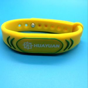 Event ticketing contactless CIPURSE move RFID smart bracelet pictures & photos