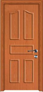 PVC Interior Door MDF PVC Door (PVC door) pictures & photos