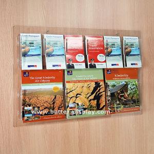 Magazine Shelf Brochure Holder Floor Stand (BTR-H6025) pictures & photos