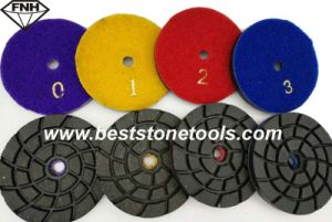 Metal Bond Diamond Polishing Pad with Velcro (CR26)
