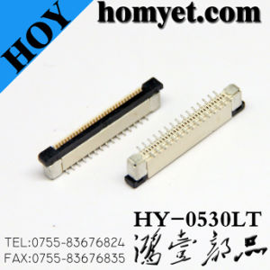 0.5mm Pitch 14p Vertical FPC Connector/Btb Connector pictures & photos