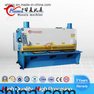 Huaxia Hydraulic Plate Guillotine Shearing Cutting Machine QC11k-8X2500 pictures & photos