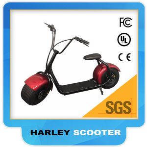 Big Wheel Citycoco Electric 2 Seat Harley Scooter Lithium Battery 1000W 60V pictures & photos