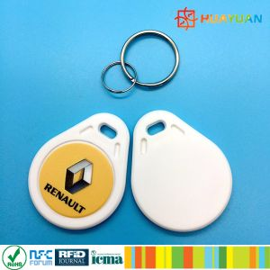 Offset printing Logo MIFARE Classic 1K RFID keyfob keychain tag pictures & photos