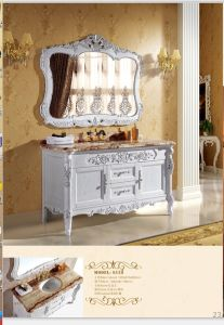 Sanitary Ware Bathroom Cabinet with European Archaize Series (6129) pictures & photos