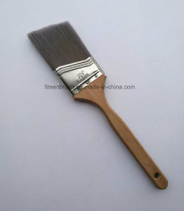 Anglecut Paint Brushes with Long Wood Handle pictures & photos