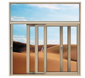 Customized Size and Design Aluminum Sliding Window pictures & photos