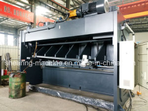 Hot Sale Iron Guillotine Cutter Nc Controller Guillotine Shear Machine pictures & photos