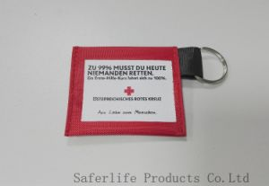 Cheap Promotion Products Ce ISO FDA First Aid Kit CPR Mask Keychain Emergency Disposable CPR Face Shields for Medical pictures & photos