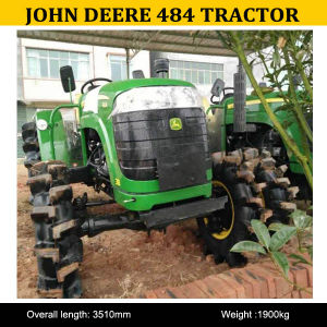 High Quality Tractor John Deere 484 with Front Loader, High Quality John Deere Farm Tractor 484 pictures & photos