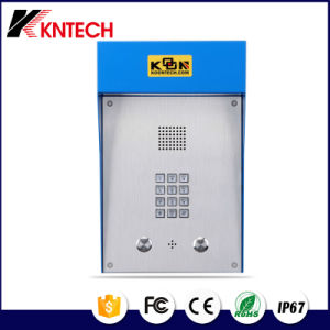 Public Emergency Exit Telephone Knzd-49 Handfree Telephone with Loudspeaker pictures & photos