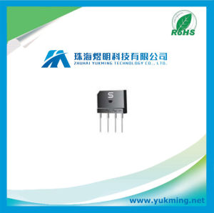 Electronic Component Diode of Glass Passivated Bridge Rectifier for PCB pictures & photos