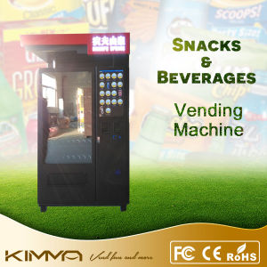 Cold Beverage and Chips Vending Dispenser Machine pictures & photos