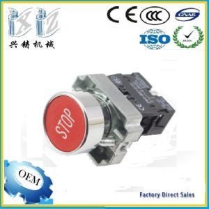 Xb2-Ba4342 Schneder Type Xb2 Series Push Button Switch 22mm 1 Nc Red Color Stop Pushbutton pictures & photos