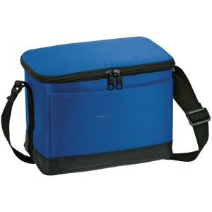 Polyester Cheap Simple Insulated Cooler Bag for Food pictures & photos