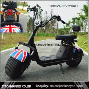 New Style Harley Citycoco 1000W 2 Wheel Electric Scooter Motorbike pictures & photos