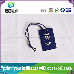 High Quality Paper Printing Hang Tag (Rope, Small) pictures & photos
