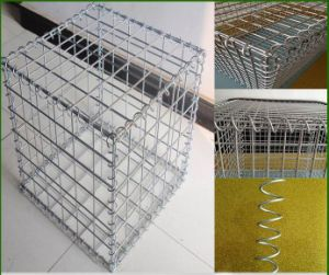Galvanized Welded Gabion / Stone Wall Wiremesh Gabion with ISO Certificate 100X100mm (XM246) pictures & photos