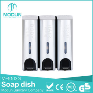 350/350*2/350*3ml Wall Mounted Liquid Soap Dispenser in Grey Color pictures & photos
