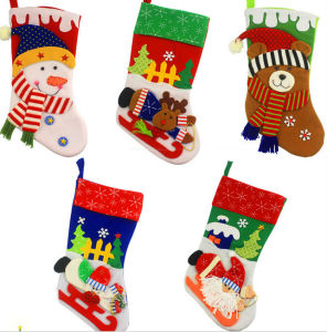 OEM Christmas Stocking Hang Decoration and Craft for Promotional Gift pictures & photos
