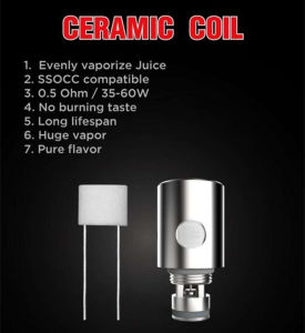 Stainless Steel Ssocc Compatible Kanger Ceramic Coil pictures & photos