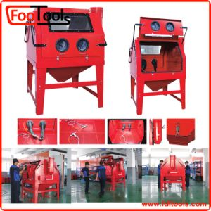 1200L Industrial Cabinet Sandblaster with Double Doors pictures & photos