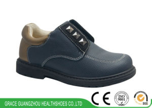 2017 Children Support Shoes Leather Students Corrective Shoes pictures & photos