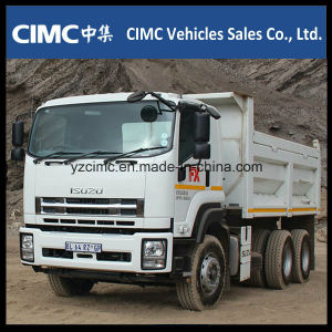 Isuzu Qingling Vc46 Dump Truck/Tipper Truck 8X4 pictures & photos