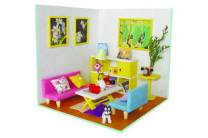 Mini Living Room Furniture DIY Toy Can Finished by Kids Own pictures & photos