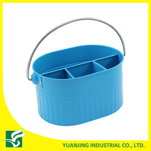 Blue Color Metal Storage Basket pictures & photos