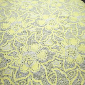 High Quality Fashion Two Tone Elastic Textile Lace pictures & photos