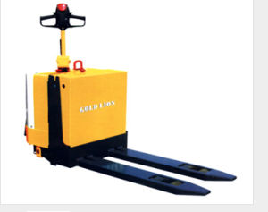 Good Price 1500kg Electric Pallet Truck pictures & photos