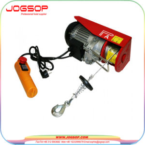 Wire Rope Small Mini Electric Hoist with Trolley for Sale pictures & photos