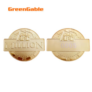 Custom Souvenir Metal Chips pictures & photos
