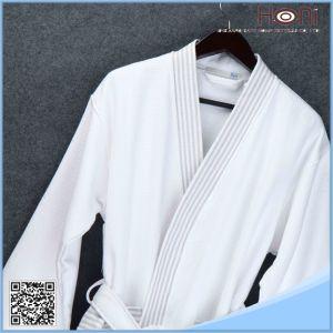 Bulk White 100% Cotton Bathrobe