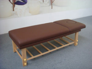 Wooden Stationary Massage Table (SM-002) pictures & photos
