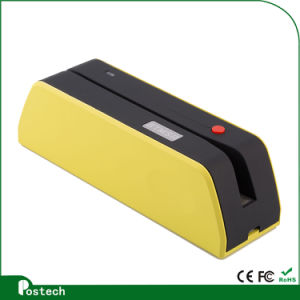 Msrx6bt Bluetooth Magnetic Credit Card Reader Write Swipe Encode Msr206 Mini Portable X6bt pictures & photos