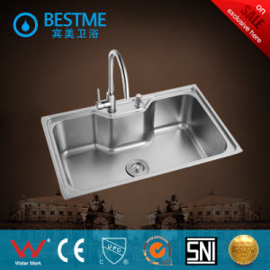 Hot-Sale Ss304 Stainless Steel Double Bowl Kitchen Sink From Foshan pictures & photos