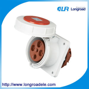 Industrial Socket of IP67 63A 4p Plastic Cee pictures & photos