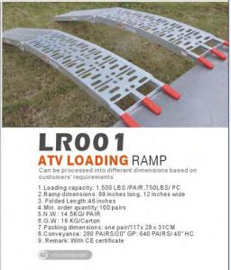 Factory Supply Alu Loading Ramp with Ce Certification pictures & photos