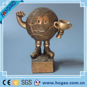 Polyresin Custom Bronze Decoration Warrior Swordman pictures & photos