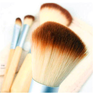 High Quality Mini 4PCS Bamboo Beauty Tools Makeup Brushes pictures & photos