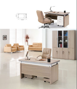 Simple Design Adjustable Office Computer Desk pictures & photos