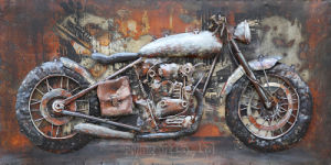 3 D Metal Decoration Oil Painting Wall Art pictures & photos
