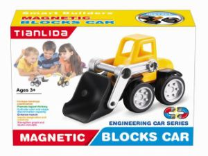 The Latest Magnetic Puzzle Block Car for Kids pictures & photos